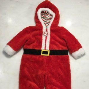 Jingles And Joy Baby Santa Bunting Costume 6-9 m